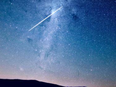 【条件良好】みずがめ座η流星群2019の方角・極大日時・ライブ中継情報